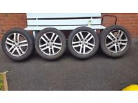 "Vw 16 "" mk6 golf alloys"