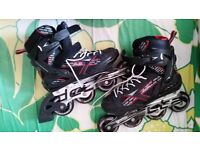 Roller Blades worn only few times. Size 6.5