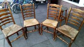 Vintage Dinning chairs set of four