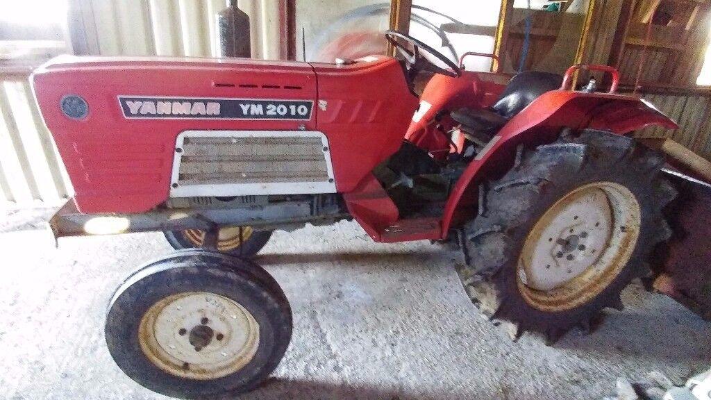 Yanmar YM2010 23HP Compact Tractor £2650 ono