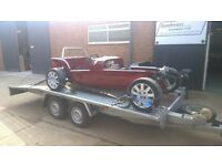 Car Collection and delivery service Berkshire Based Plus storage