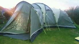 Outwell Hartford XL. 8 man tent. Used but in great condition.
