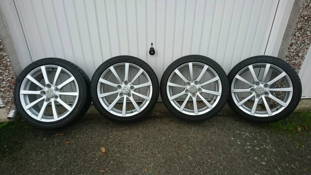 4 X 17 Quot Genuine Mazda Mx 5 Mx5 Mk3 Nc Sport Alloy Wheels