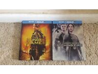 Hunger Games 1&2 Blu ray steel book