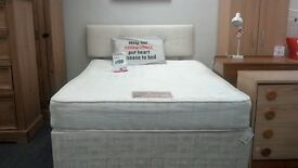 Double cream divan bed from next - British Heart Foundation