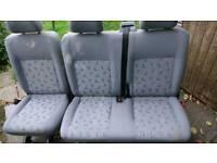 Vw shuttle back seats