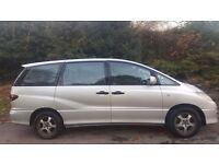 TOYOTA ESTIMA AUTOMATIC, 53 REG, 8 SEATS, LOW MILES, HPI CLEAR, FULL LEATHER, PREVIA, DRIVES MINT