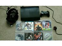 Ps3 slim 500gb with 11 games