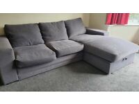 SOFA BED WITH STORAGE *To Go By The Week-end *
