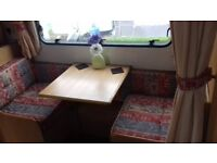 Bailey pageant champagne 4 berth caravan 2002 comes with everything you need for your holiday .