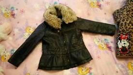 Girls coats and dresses