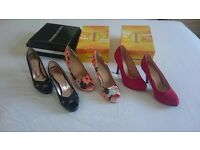 Shoes size 6 (3 pairs)