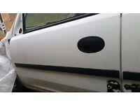 Vauxhall Combo White doors