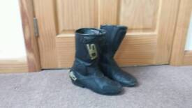 Mens motorbike boots Size 44