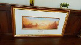 tyne bridge painting, signed