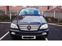 Mercedes ML 270D 7 seater, fully leather. xenon lights