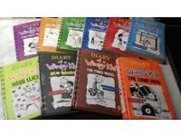 Diary of Wimpy Kid-10 Book Collection