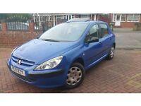 Peugeot style 307 1.4 petrol 5 door 11 month MOT