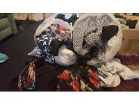 TWO Bin Bags of Women's Size 12 clothes - Bundle/ assortment