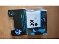 Hp 301 black printer cartridge