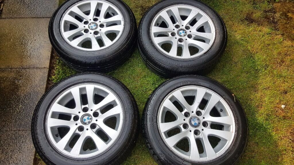 4X BMW 3 Series 16'' Alloys, Excellent condition Runflats Tyres £120