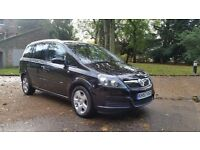 VAUHALL ZAFIRA 1.6 BREEZE 57 PLATE 2007 ONE F/LADY OWNER 84000 MILES FULL SERVICE HISTORY 7 SEATER