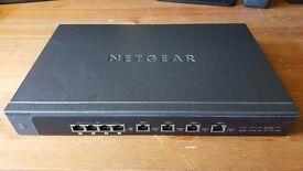NETGEAR SRX5308 ProSafe Quad WAN Gigabit SSL VPN Firewall Load Balancer