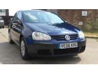 VW Golf 2006 ,Lower Mileages and Long MOT Expiry on 20-07-2019
