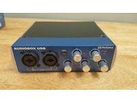PreSonus Audiobox 2 x 2 USB Recoding System