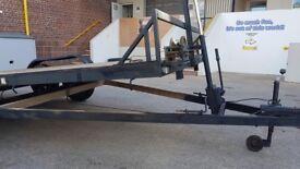 Car/plant tilt bed trailer