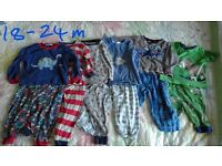 Boys pyjama bundle 18-24 months