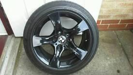Bmw e93 convertible,gloss black 225 45 17