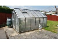 Free large 12' by 8' Greenhouse to be dismantled and collected or its in the skip!