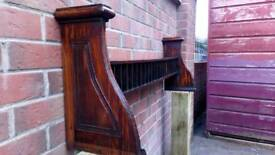 Antique pitch pine shelf