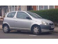 Toyota Yaris 3Dr (£450)
