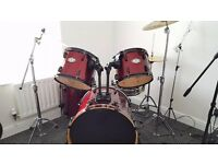 Pearl Vision SST Birch Ply Shell Drum Kit with Cymbals