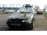 VAUXHALL VECTRA LS PETROL ESTATE LOW MILEAGE £590