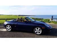 FOR SALE PORSCHE BOXSTER 986 2002, MOT 21-Aug-17, TAX: Mar-18, 92k miles, Scratched bumper
