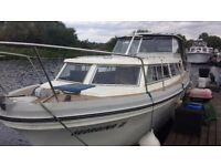 Princess 32 boat. river cruiser