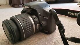 Canon 500D DSLR Camera + Lens