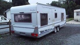 4 berth carvan home for rent