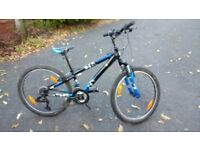 "Trek MT220 24"" wheel mountain bike"