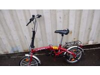 FOLDING BIKE 6 SPEED AVAILABLE FOR SALE