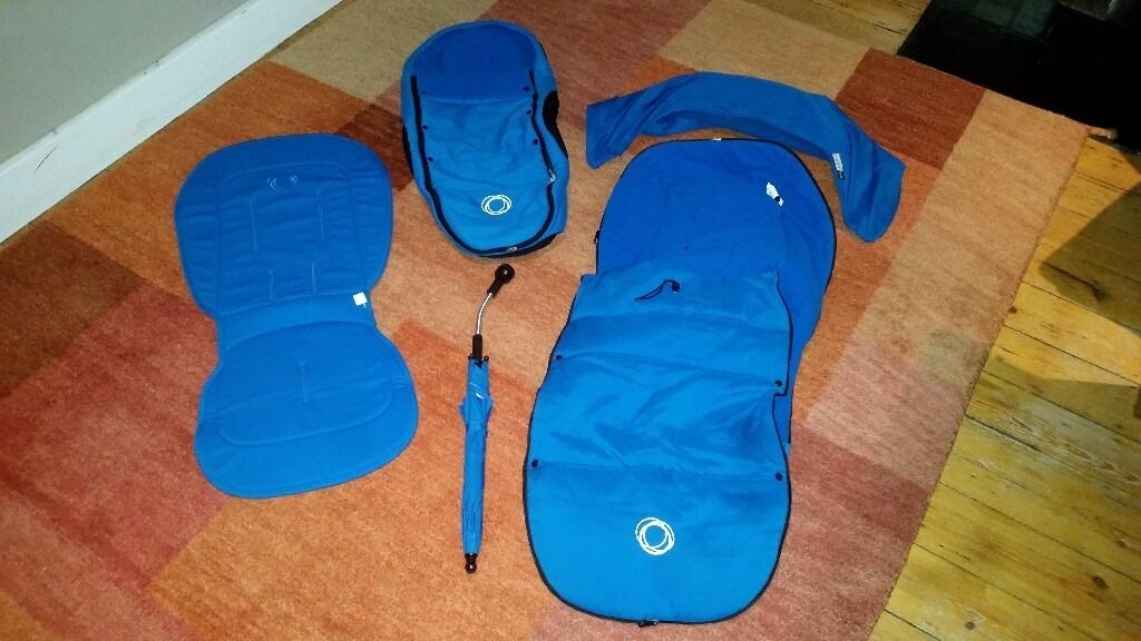 Bugaboo Bee Plus Accessories - Royal Blue - Great Condition