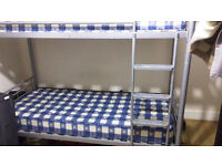 bunk bed with mattresses for sale