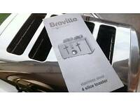 Breville, Polished - Stainless Steel, 4 Slice Toaster