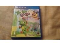 Yooka Laylee (PS4) Used Perfect Condition
