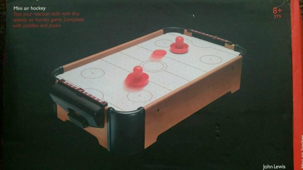 Mini air hockey table table designs