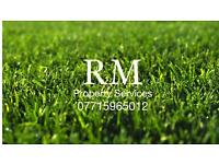 Grass/hedge cutting/ property services