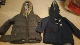 X2 12-18 months coats